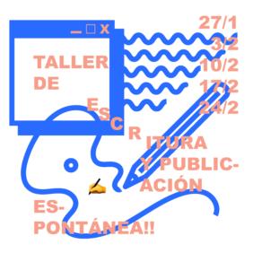 Taller de escritura y publicación espontánea en Can Felipa